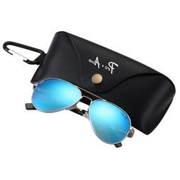Pro Acme Small Polarized Aviator Sunglasses for Adult Small