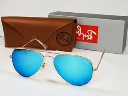 Ray Ban Aviator 112/17 Blue Flash Sunglasses 58mm RB3025