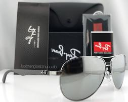 Ray-Ban Aviator Carbon Polarized Sunglasses RB8313 004/K6 Si