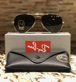 4bb2b75f6 Ray Ban Aviator Sunglasses RB3025 L0205 58mm Arista Gold Fra
