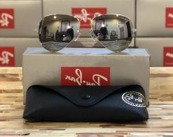 Ray-Ban Aviator Sunglasses RB3025 W3277 58mm Silver Frame/Si