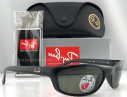 398cb0206400 Ray-Ban Predator RB4115 601 9A Sunglasses Black Green Polari