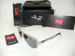 Ray Ban RB 8313 003/40 58mm Carbon Fiber Mirror Aviator Unis