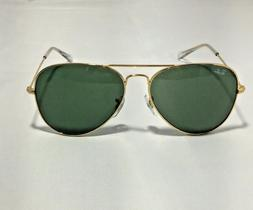 Ray-Ban RB3025 Aviator Classic L0205 Gold Frame/Green Classi