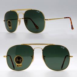 Ray ban square aviator sunglasses for men green classic g-15