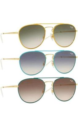 Ray-Ban Women's Gold-Tone Top Aviator Sunglasses w/ Gradient