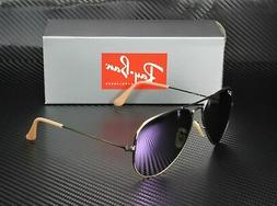 Ray-Ban RB3025 Aviator Flash Lenses Polarized Sunglasses 167