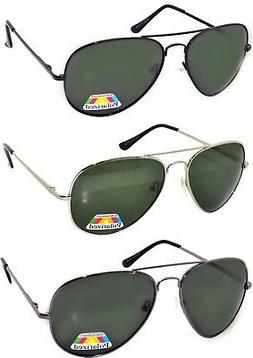 Set of 3 Men Polarized Sunglasses Aviator Eyewear Glasses Sp