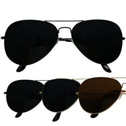 ShadyVEU -Super Dark Black Out Lens Classic OG Teardrop Avia