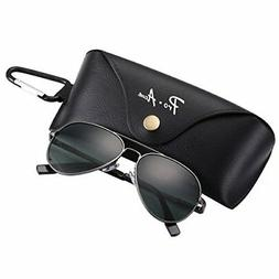 17d911058ffd Editorial Pick Pro Acme Small Polarized Aviator Sunglasses for Adult Small