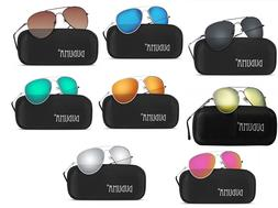 Sunglasses for Mens and Womens, Mirrored, Shades with Uv400,