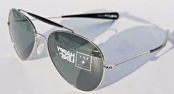 Spy Sunglasses PRESIDIO Silver W/Black-Happy Grey Green