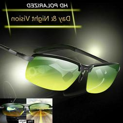 Tac HD+ Polarized Day Night Vision glasses Men Driving Sport