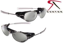 Tactical Aviator Flying Sunglasses Sun Glasses UV400 With Si