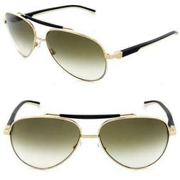 Tag Heuer TH 0881 204 Automatic Black & Gold Sunglasses Brow