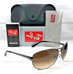 a202fb4007 Ray Ban Warrior RB3342 004 51 Gunmetal   Brown Gradient 63mm