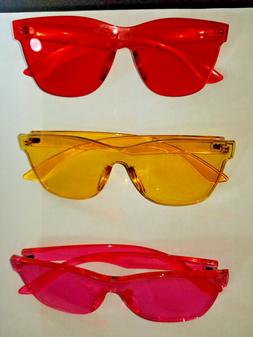womens sunshades custom tented oversized sunglasses